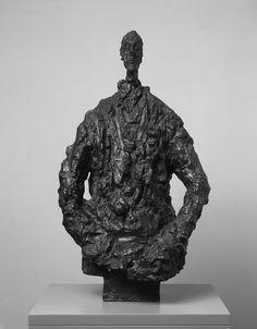Giacometti: Pure Presence at NPG. Diego in a sweater by Alberto Giacometti, Alberto Giacometti, Giovanni Giacometti, Pop Art, Modern Art, Contemporary Art, Portraits, Land Art, Sculpture Art, Metal Sculptures