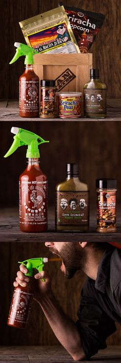Is your dad a sriracha squirting fiend? This Father's Day, save your dad time by putting Sriracha on everything he already loves, while equipping him to spray down all inferior flavors. The Sriracha Crate celebrates the contributions of the great White Rooster of Hope, and will paint your father's tastebuds with unfathomable zestiness. Send your dad the ultimate tongue-zinger.