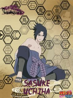 Sasuke from Naruto anime