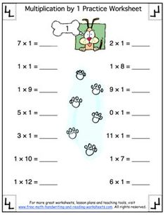 math worksheet : basic multiplication worksheet  multiplying by zero  : Zero Property Of Multiplication Worksheet