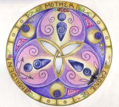 Triple Goddess by Spiralpathdesigns on DeviantArt