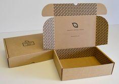 Subscription Box Carton Design Corrugated Custom Bo Kraft Paper Ng