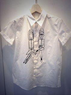 iami カップル半袖シャツ