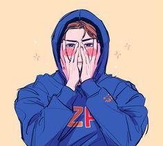 Sehun is the Thype Exo Anime, Anime Guys, Anime Art, Sehun, Kpop Exo, Pretty Art, Cute Art, Character Art, Character Design