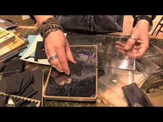 CHA2014 - Detailed Demos with Tim Holtz at Ranger VIP Event - YouTube
