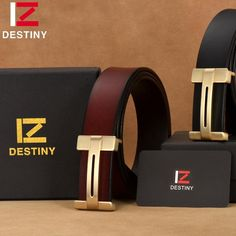 H Buckle Leather Belt #hisboutique #mensstyle