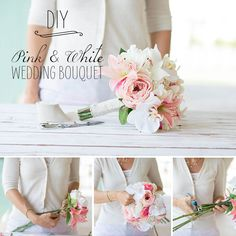 Learn how to make your own wedding bouquet with silk flowers from afloral.com. #diywedding Design: WedIdeas.com Photos: Bridgett Anderson Photography