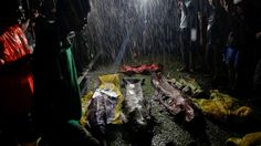 Dramatic images show bodies washed up on shore after a boat capsized while carrying Rohingya refugees trying to reach safety in Bangladesh by crossing the Bay of Bengal from Myanmar. Strong winds and high seas blew them off course and at least 14 drowned within sight of the shore, including... - #Haunting, #Images, #Muslim, #Refugees, #Rohingya, #Show, #TopStories, #Washed