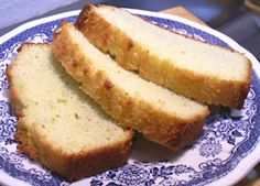 Coconut Bread, Low Carb - The coconut flavor isn't all that strong, could easily flavor this any way you like. More like a cake/bread. With liquid Splenda, 2g net carb per slice