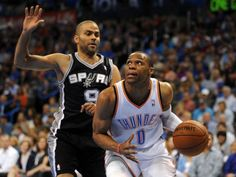 San Antonio Spurs at Oklahoma City Thunder http://www.best-sports-gambling-sites.com/Blog/basketball/san-antonio-spurs-at-oklahoma-city-thunder/  #basketball #nba #OklahomaCityThunder #SanAntonioSpurs #Spurs #Thunder