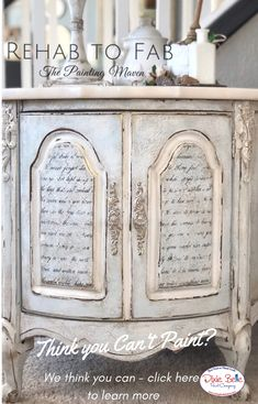 """Figure out more details on """"shabby chic furniture diy"""". Take a look at our web site. Repurposed Furniture, Shabby Chic Furniture, Refurbished Furniture, Furniture Makeover, Diy Furniture, Antique Furniture, Furniture Refinishing, Furniture Movers, Furniture Online"""
