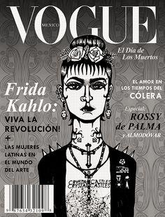 Frida in Vogue