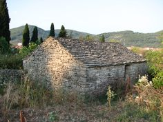 landscape in Korcula ; Croatia