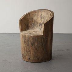 Interior Design Addict: Jose Zanine Caldas, Brazil, via R Modern Wood Chair, Wood Chair Design, Wood Design, Furniture Design, Furniture Chairs, Furniture Stores, Modern Chairs, Rustic Log Furniture, Design Desk
