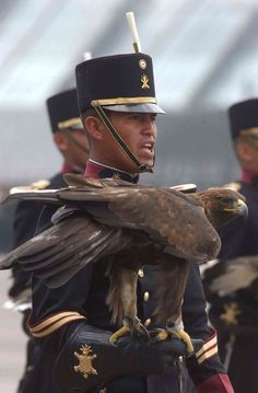 Mexican military cadet