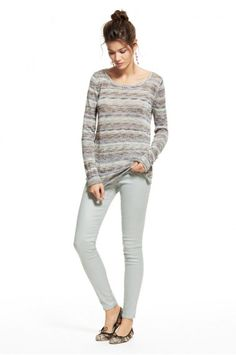 Drienne Marled Merino Blend Sweater