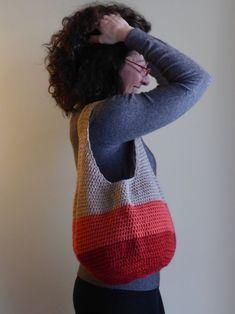 Bolso tote de ganchillo tote elegante bolsa de mercado de   Etsy Crochet Hobo Bag, Crochet Market Bag, I Feel Free, Boho, Lana, Shoulder Bag, Tote Bag, Stylish, Etsy