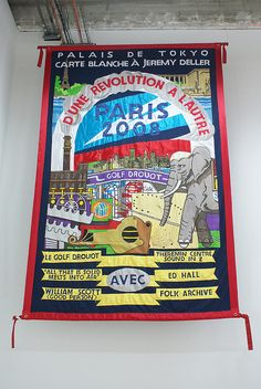 Banner by Ed Hall by Marc Wathieu, via Flickr
