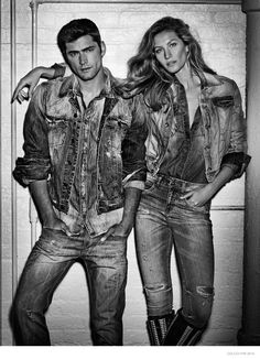 Supermodel Gisele Bundchen wears denim for Colcci fall winter 2015 campaign Photoshoot