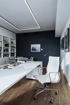 New Home Office Design Chic Inspiration Ideas Small Space Interior Design, Office Interior Design, Home Office Decor, Office Interiors, Home Decor, Bureau Design, Future Office, Small Office, Small Spaces