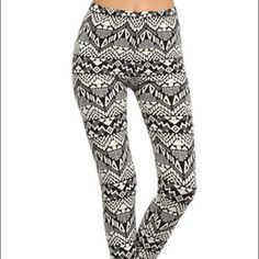 Tribal print leggings Tribal print leggings. Very similar to the first picture. Very cute and comfortable! Stretchy, and could fit a small as well. Price is negotiable and please feel free to ask questions !! lululemon athletica Pants Leggings