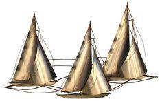 C. Jeré Brass Boat Sculpture | Love the Look | One Kings Lane