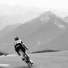 Team Garmin at the 2014 Tour, alps or pyrenees . Ah, to be free . Cycling Art, Cycling Bikes, Road Bikes, Bicycle Race, Mtb Bike, Montague Bike, Bike Humor, Cargo Bike, Bike Style