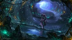 MLP - Mirror Pond by Huussii.deviantart.com on @deviantART