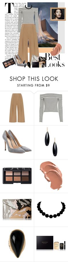 """Untitled #369"" by riuk ❤ liked on Polyvore featuring N°21, 10 Crosby Derek Lam, Gianvito Rossi, H&M, Janis Savitt, NARS Cosmetics, Rebecca Minkoff, Diane Von Furstenberg and Gucci"