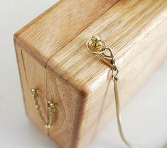 NATURE COLLECTIONHandmade Minimalism Wooden Clutch Box by Xstudio