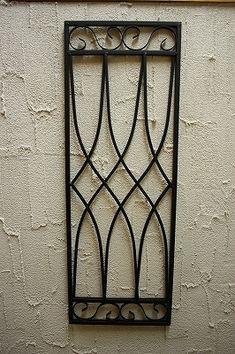 - おうちデコ雑貨のお店 Lara saraca Home Window Grill Design, Grill Gate Design, House Window Design, Balcony Grill Design, Balcony Railing Design, Iron Gate Design, Window Grill Design Modern, Wrought Iron Doors, Iron Decor
