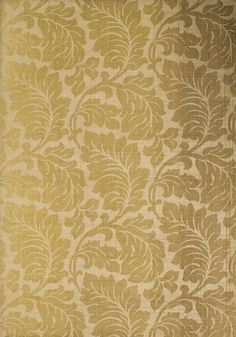 Cermian Raffia #wallpaper in #metallic #gold on #natural from the Neutral Resource collection. #Thibaut