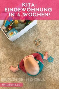Kita-Eingewöhnung mit einem Jahr nach dem Berliner Modell   Ein detaillierter Bericht über die Eingewöhnung meines 1-jähriges Kindes innerhalb von vier Wochen. Mehr Infos auf Mamaskind.de