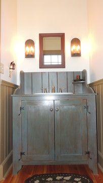 Farm House Addition - farmhouse - Bathroom - Other Metro - Maplestone Construction
