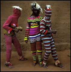 Ngar Ball Traditional Masquerade Dance, Cross River, Nigeria, 2004 / Phyllis Galembo