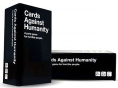 Holiday Gifts For Him: Cards Against Humanity Completely wrong and offensive, but also the best card game ever. Sense of humor and inability to be offended an absolute must.