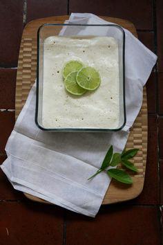 Recipe >> Mexican dessert : Lime & Mezcal Carlota by Heidi Leon Monges
