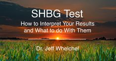 In this article I will explain the SHBG test. I will discuss what high and low results mean and what you can do to get your level back to normal. What You Can Do, You Got This, How To Get, Bioidentical Hormones, Testosterone Levels, Health And Beauty, Cancer
