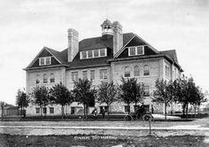 Park School, Brandon c 1920