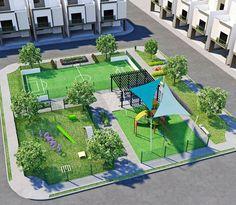 Landscape Plaza, Landscape Architecture Model, Pool Landscape Design, Education Architecture, Garden Architecture, Concept Architecture, Model House Plan, New Urbanism, Parking Design