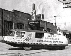 Gary Beveridges Promotional Car