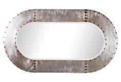Mindy Wall Mirror, Silver