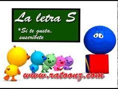 Las vocales A E I O U y la consonante S - Canta Cuento Infantil Educativo- La Pelota Loca - YouTube