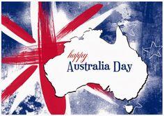 Happy Australia Day Cards Australia Flag and Map Design Australian Party, Australian Flags, Australian People, Party Co, Bbq Party, Australia Day Celebrations, Aussie Bbq, Happy Australia Day, Funny Messages