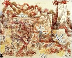 Paul Klee - Landscape with agave