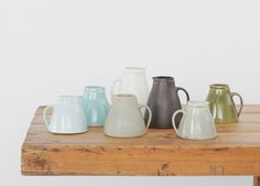 Margaret Howell is a contemporary British clothing designer. View the Margaret Howell home-product collection. Margaret Howell, Ceramic Tableware, Ceramic Pottery, Kitchenware, Ceramic Jugs, Vases, Ercol Furniture, Vintage Furniture, Anglepoise