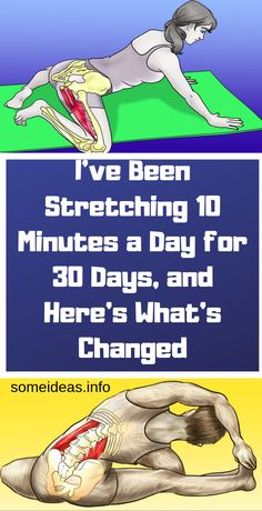 I've Been Stretching 10 Minutes a Day for 30 Days, and Here's What's Chang. - I've Been Stretching 10 Minutes a Day for 30 Days, and Here's What's Changed – Natural Remedies Fitness Workouts, Yoga Fitness, Fitness Tips, Health Fitness, Fitness Memes, Fitness Style, 30 Day Fitness, Ab Workouts, Herbal Remedies