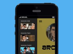 Dribbble - [GIF] iPhone App Animation by Mikael