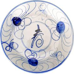 Swatow Chinese porcelain blue and white dish with crab design century late Ming Living Room Without Windows, White Dishes, Ruby Lane, 17th Century, Dinnerware, Vintage Antiques, Oriental, Goodies, Shops