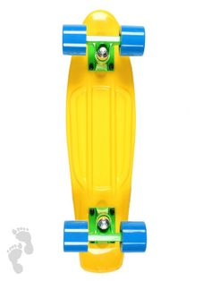 Limited Edtion Tournament Pack coloured skateboards. Ride your nations colours with these new cruiser releases | Brasil | twobarefeet.co.uk